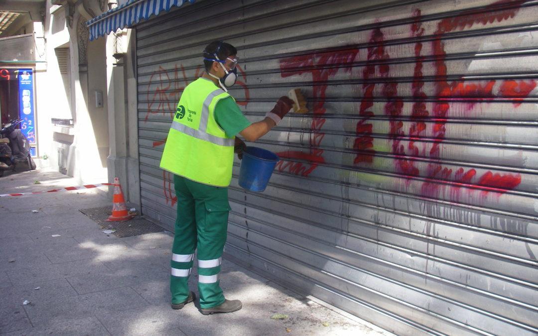 Protection anti-graffiti