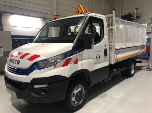 Iveco benne 2